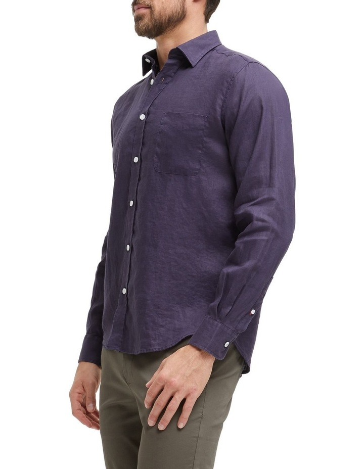 Cooper Long Sleeve Linen Shirt image 2