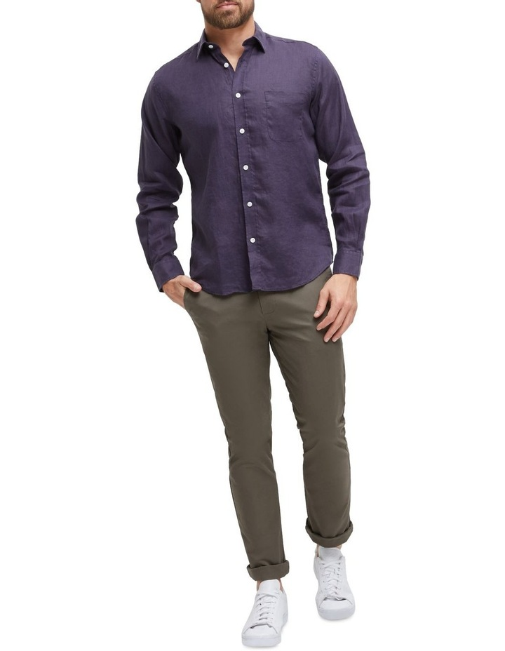 Cooper Long Sleeve Linen Shirt image 4
