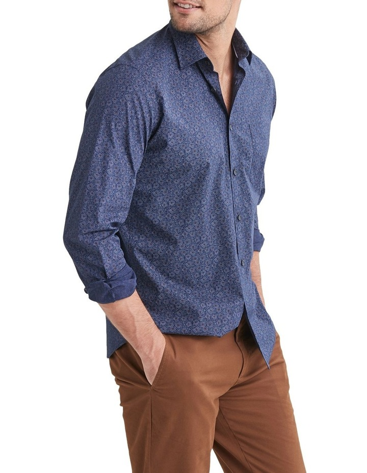 Abraham Long Sleeve Printed Shirt image 1