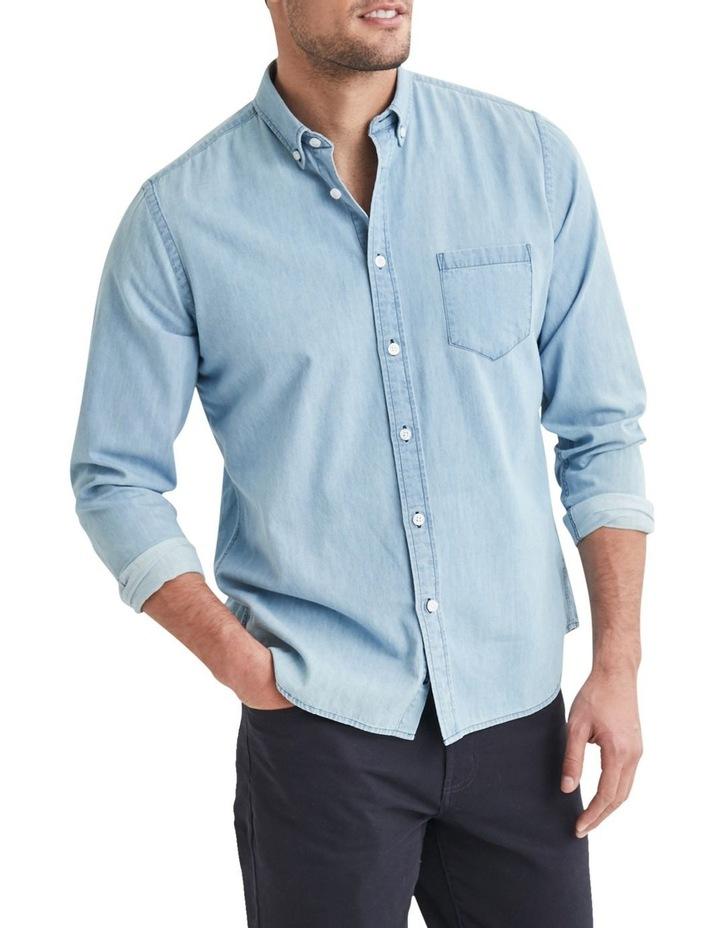 Oscar Long Sleeve Denim Shirt image 1