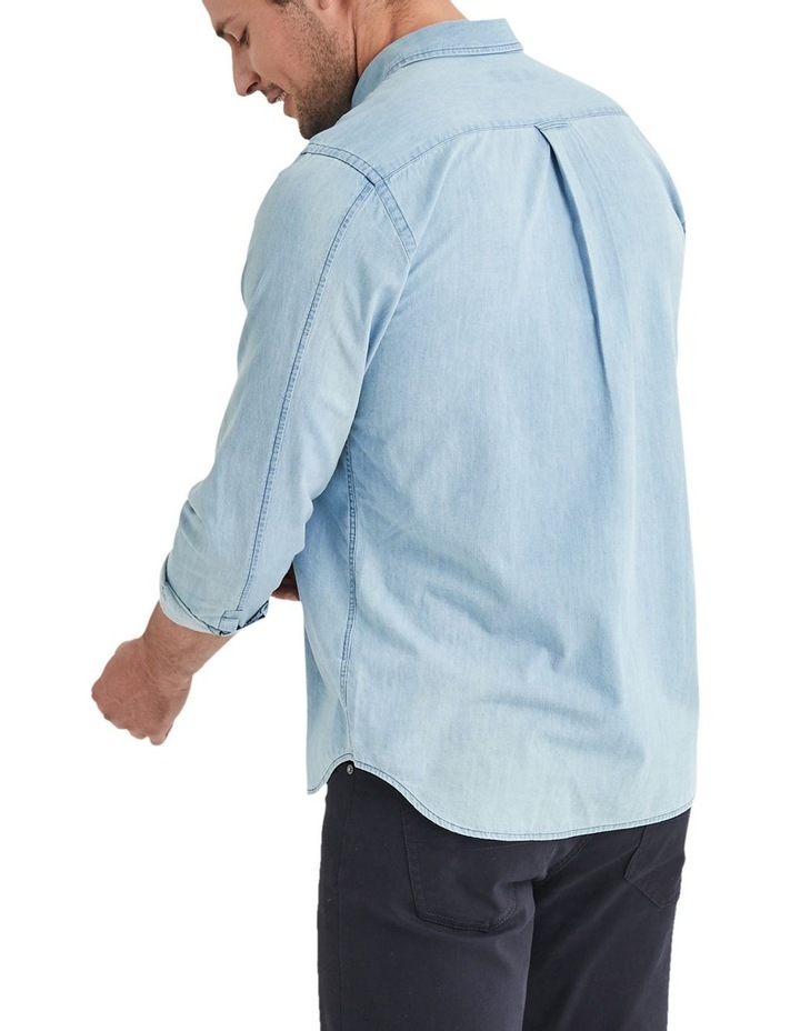 Oscar Long Sleeve Denim Shirt image 2