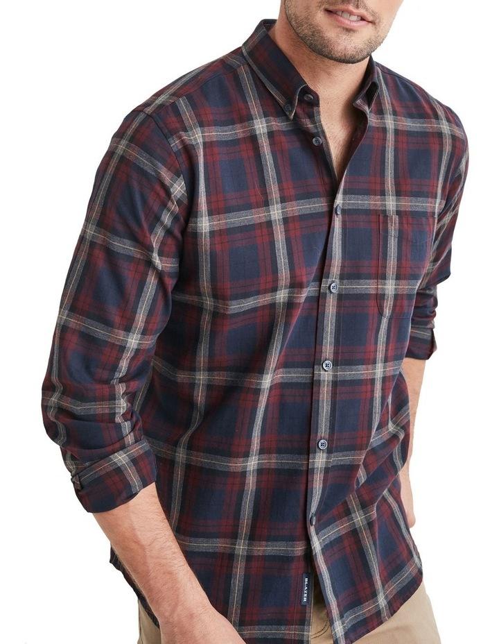 Hugo Long Sleeve Check Shirt image 3