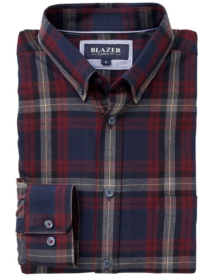 Hugo Long Sleeve Check Shirt image 4