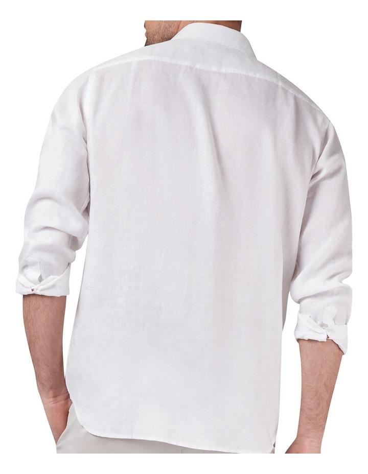 Cooper Long Sleeve Linen Plain Shirt image 2