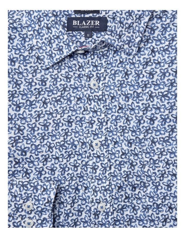 Edward Long Sleeve Linen Print Shirt image 4