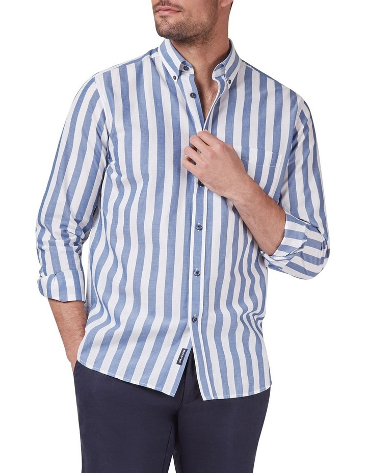 Daniel Long Sleeve Stripe Shirt image 1