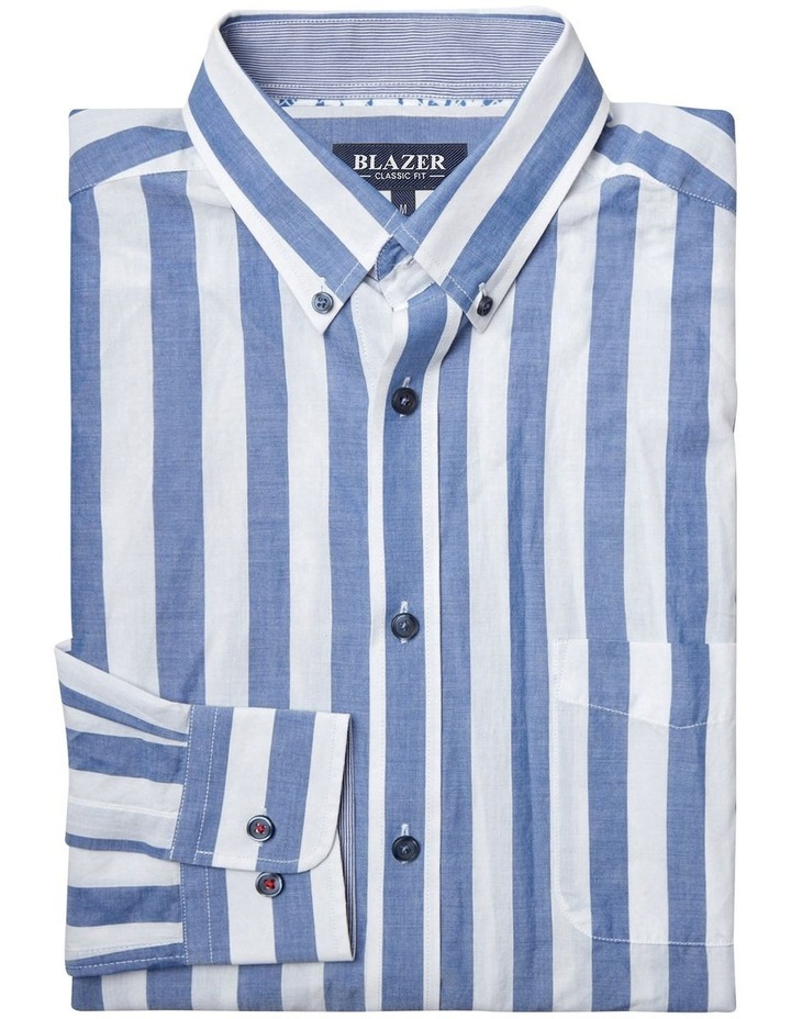 Daniel Long Sleeve Stripe Shirt image 5