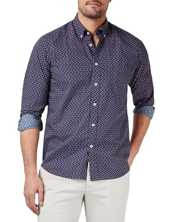 Albie Long Sleeve Print Shirt image 1