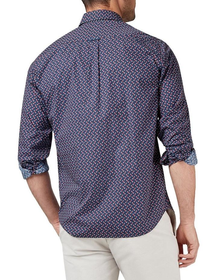 Albie Long Sleeve Print Shirt image 2