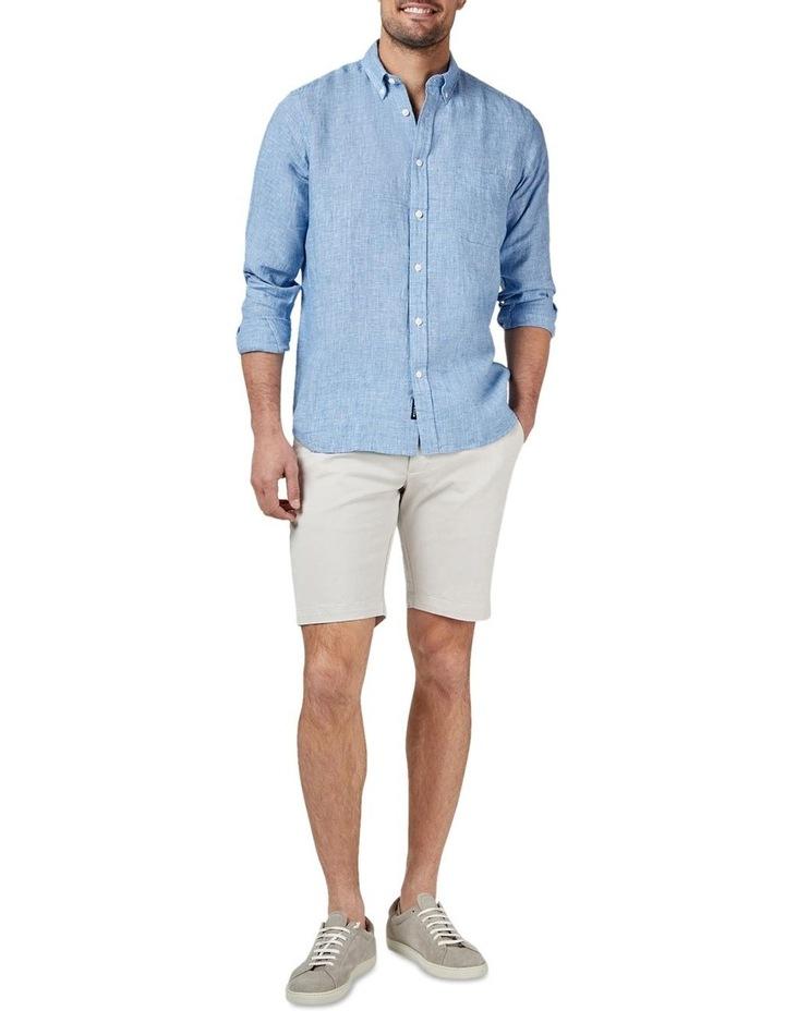Alexander Long Sleeve Linen Check Shirt image 3