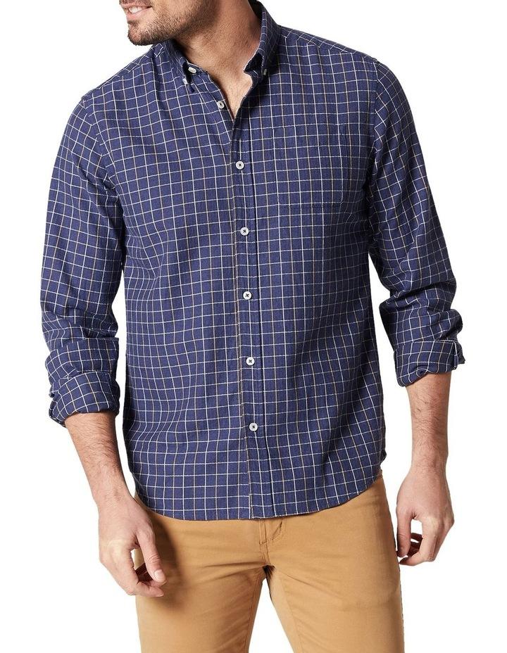 Bo Long Sleeve Herringbone Check Shirt image 1