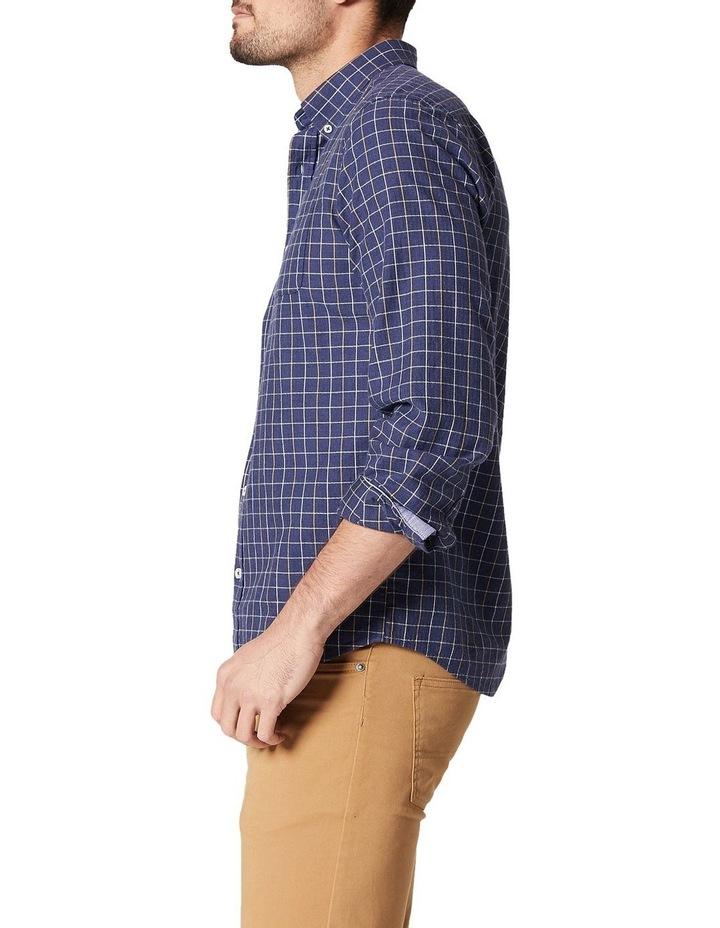 Bo Long Sleeve Herringbone Check Shirt image 3