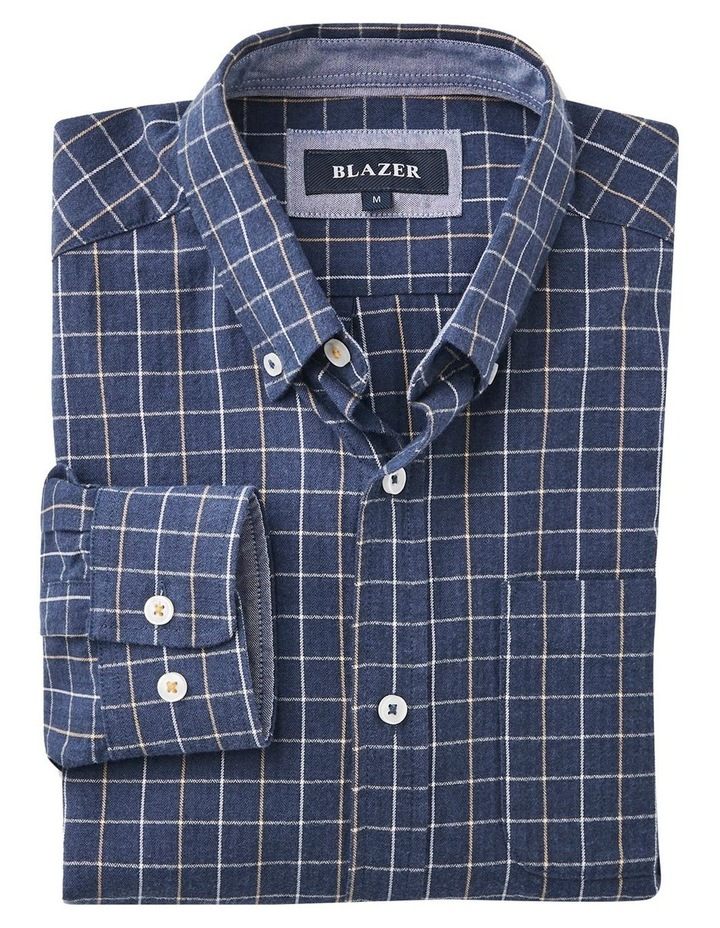 Bo Long Sleeve Herringbone Check Shirt image 4