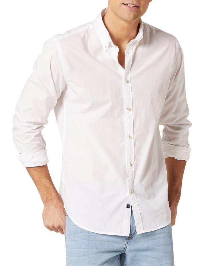 Hugo Long Sleeve Solid Dye Shirt image 1