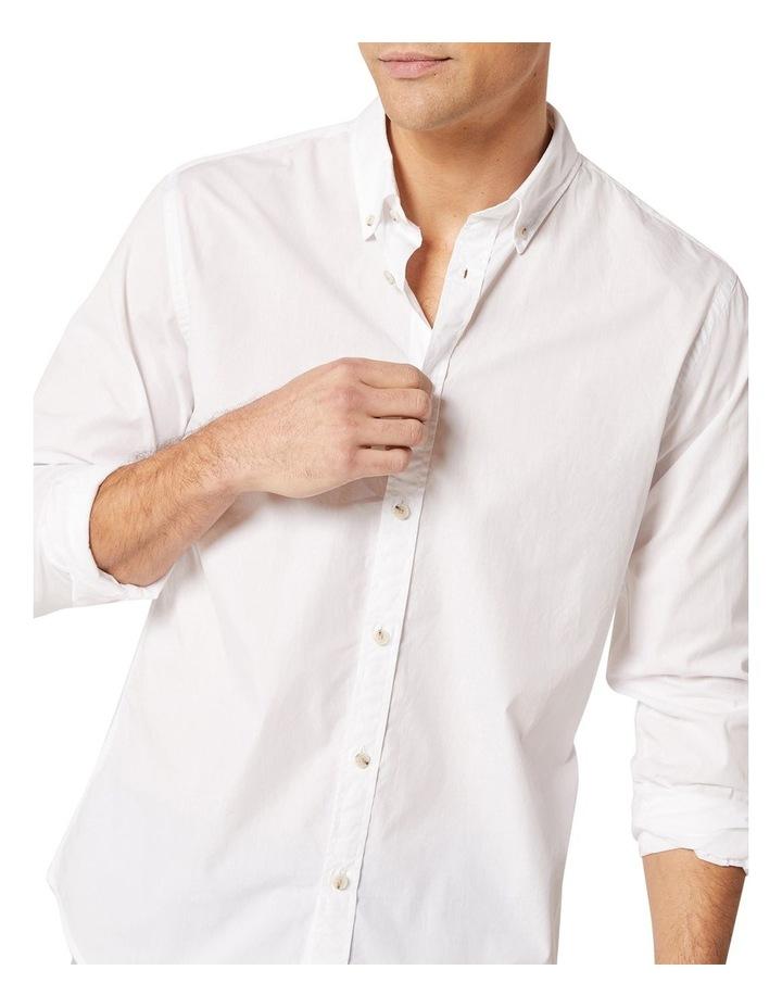 Hugo Long Sleeve Solid Dye Shirt image 3