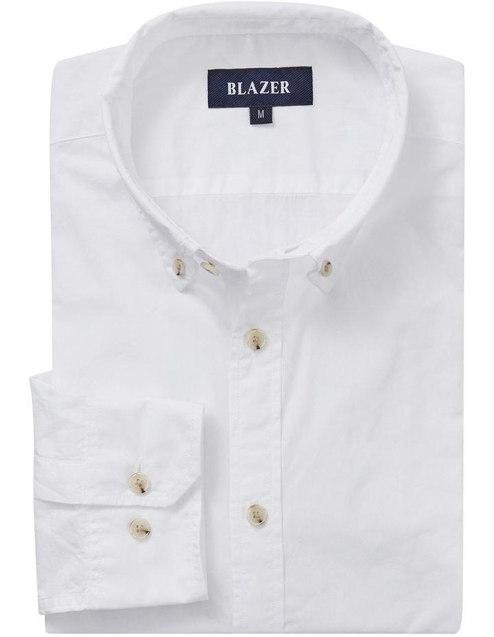 Hugo Long Sleeve Solid Dye Shirt image 4