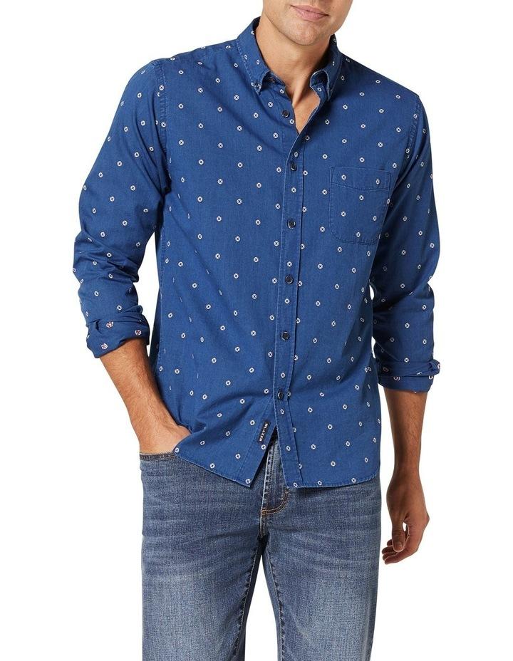 Mateo Long Sleeve Emboidered Shirt image 1