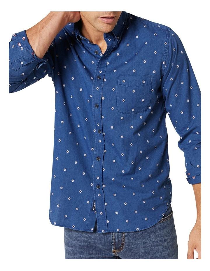 Mateo Long Sleeve Emboidered Shirt image 4