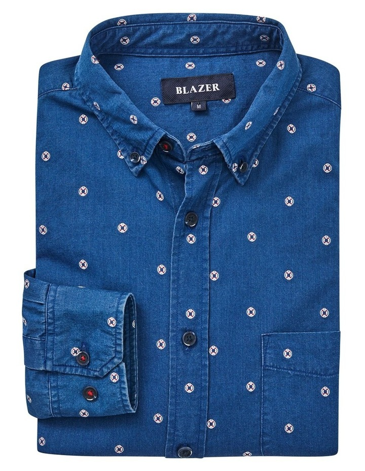 Mateo Long Sleeve Emboidered Shirt image 5