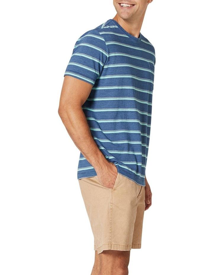 Noah Stripe Short Sleeve Tee image 4