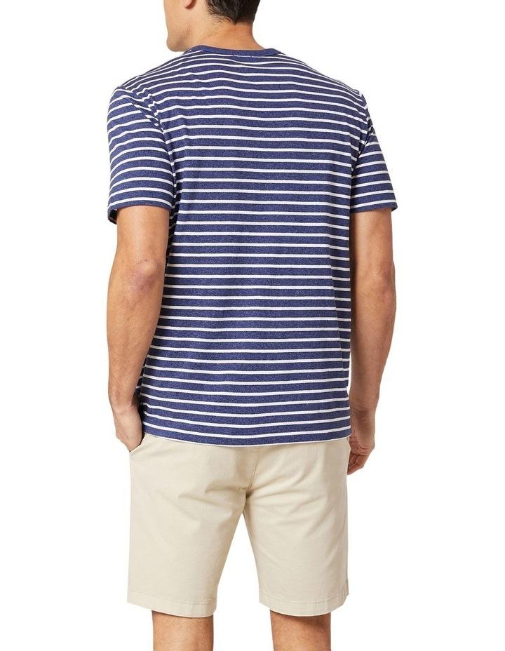 Jones Stripe Tee Navy Melange/White image 2