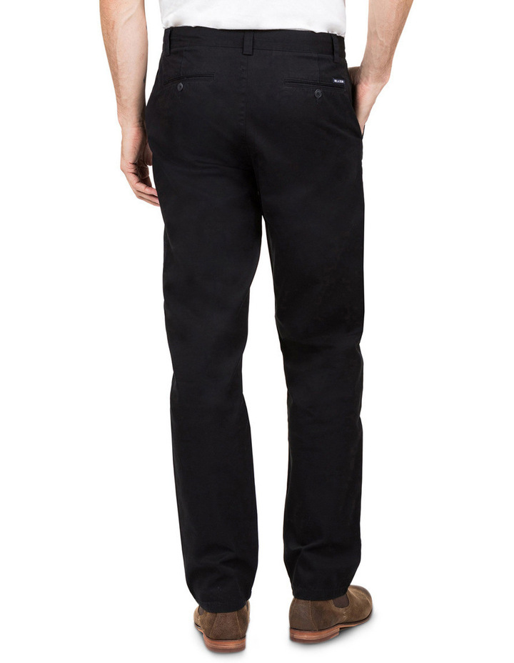 Classic Chino Pant In Black image 3