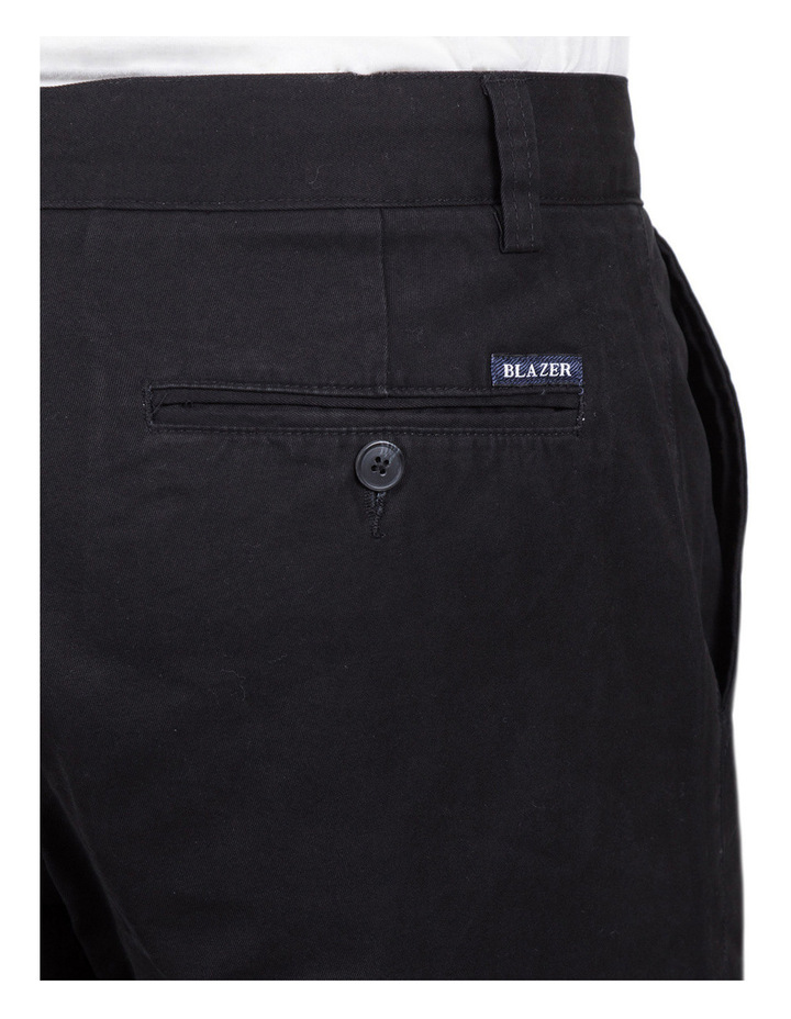 Classic Chino Pant In Black image 4