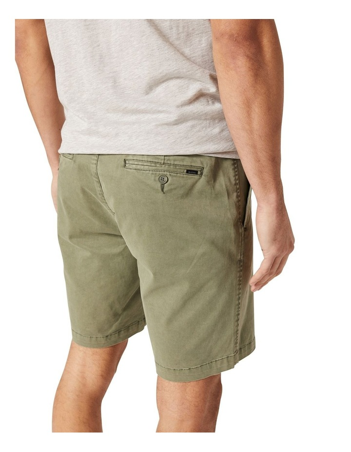 Zac Stretch Soft Touch Short  Green image 4