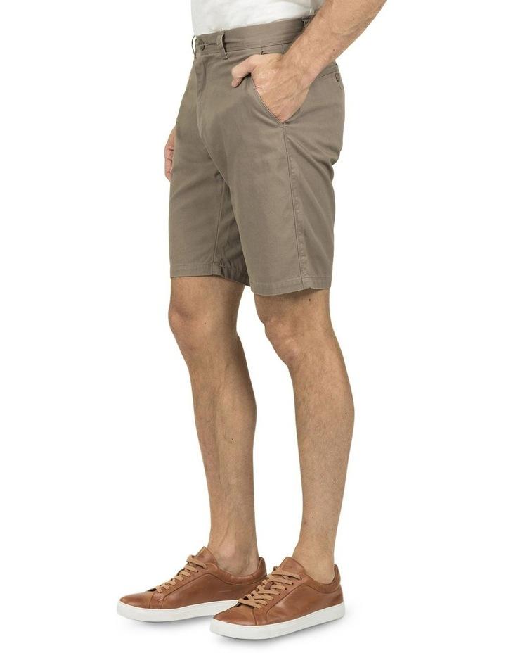 Flat Front Chino Shorts image 2