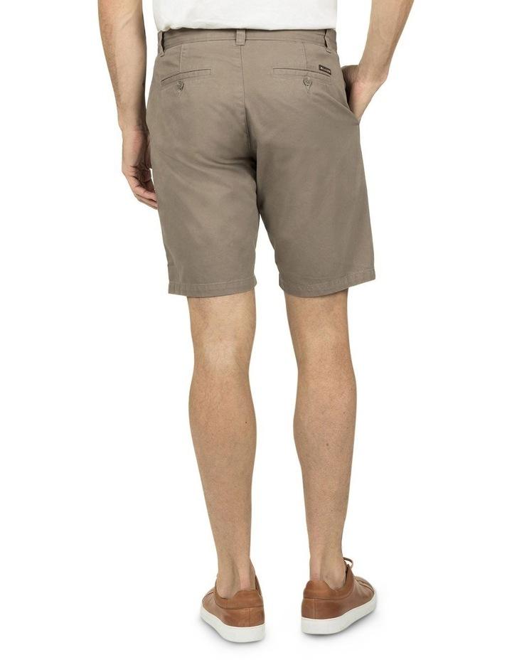 Flat Front Chino Shorts image 3