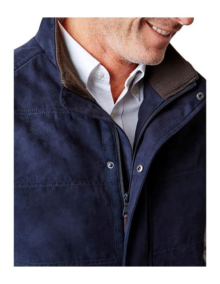 Suede Look Quilted Vest image 3