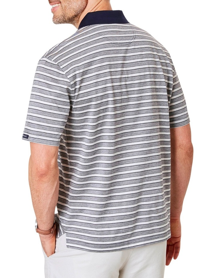 Mercerised Stripe Polo image 2