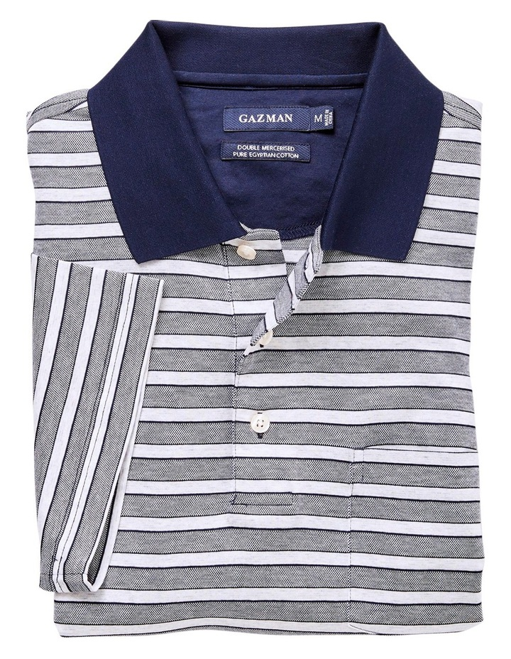 Mercerised Stripe Polo image 3