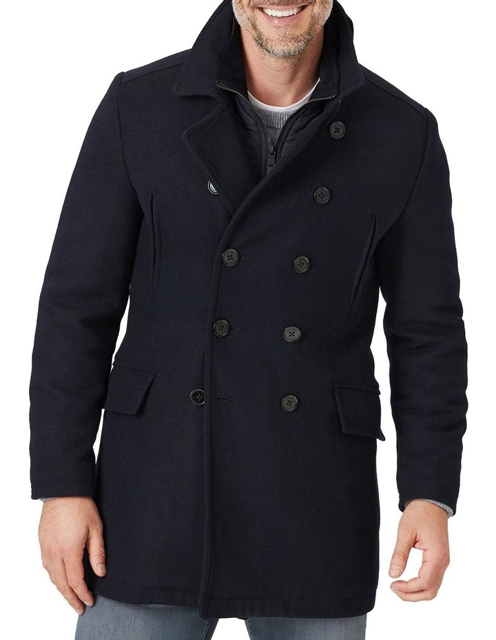 5ed5b88dfc4 Gazman | Richmond Wool Pea Coat | MYER