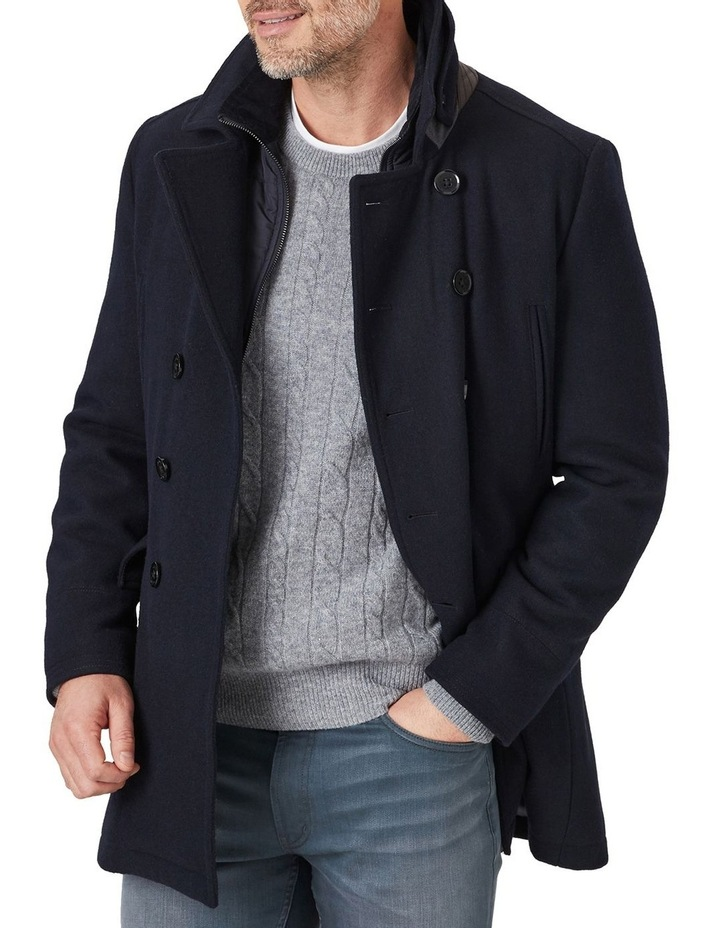 Richmond Wool Pea Coat image 2