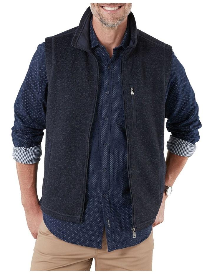 Knitted Fleece Vest image 1