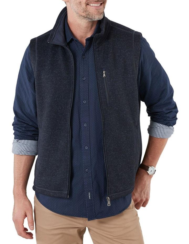 Knitted Fleece Vest image 2