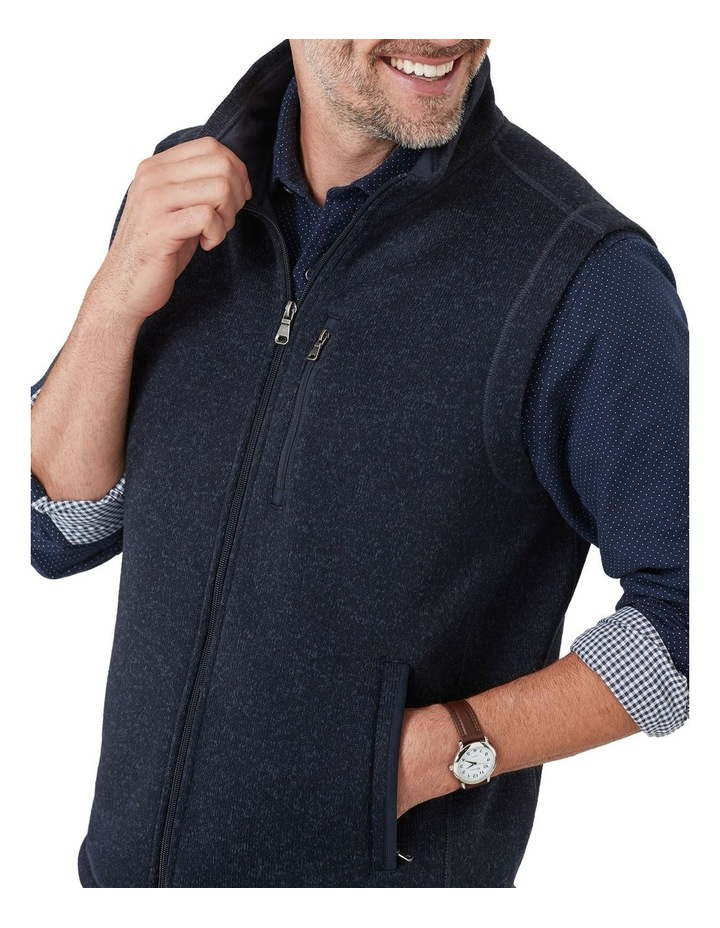 Knitted Fleece Vest image 4