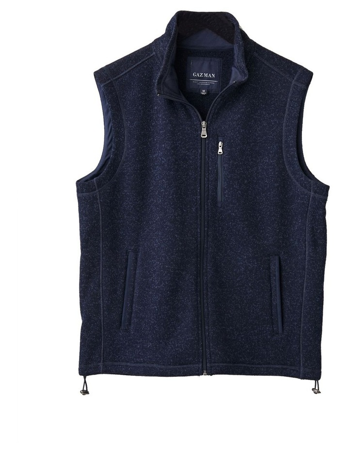 Knitted Fleece Vest image 5