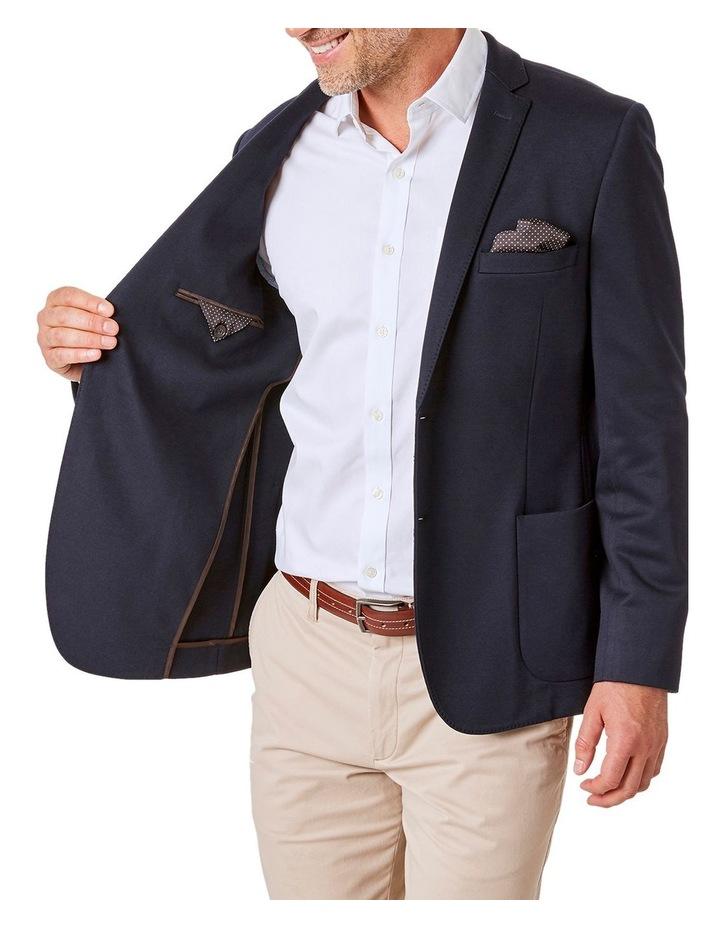 Tailored Knit Twill Sports Jacket image 4