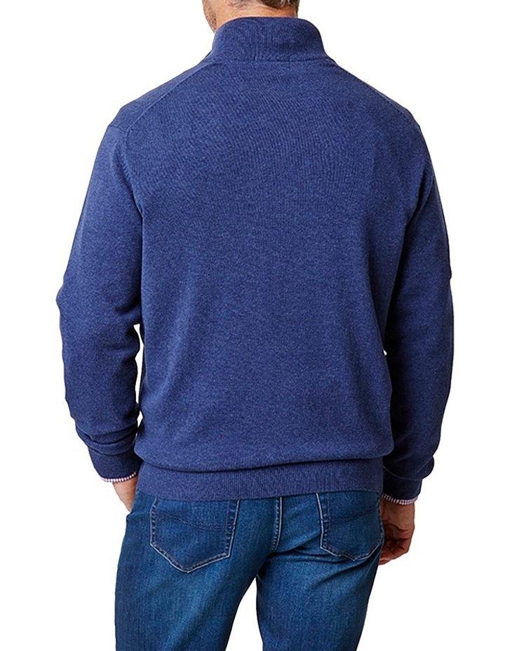 Comfort Stretch 1/2 Zip Knit image 2