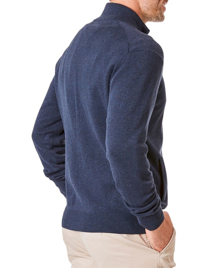 Stretch Full Zip Through Knit image 2