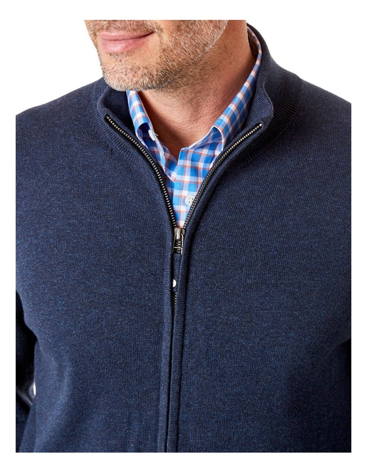 Stretch Full Zip Through Knit image 3