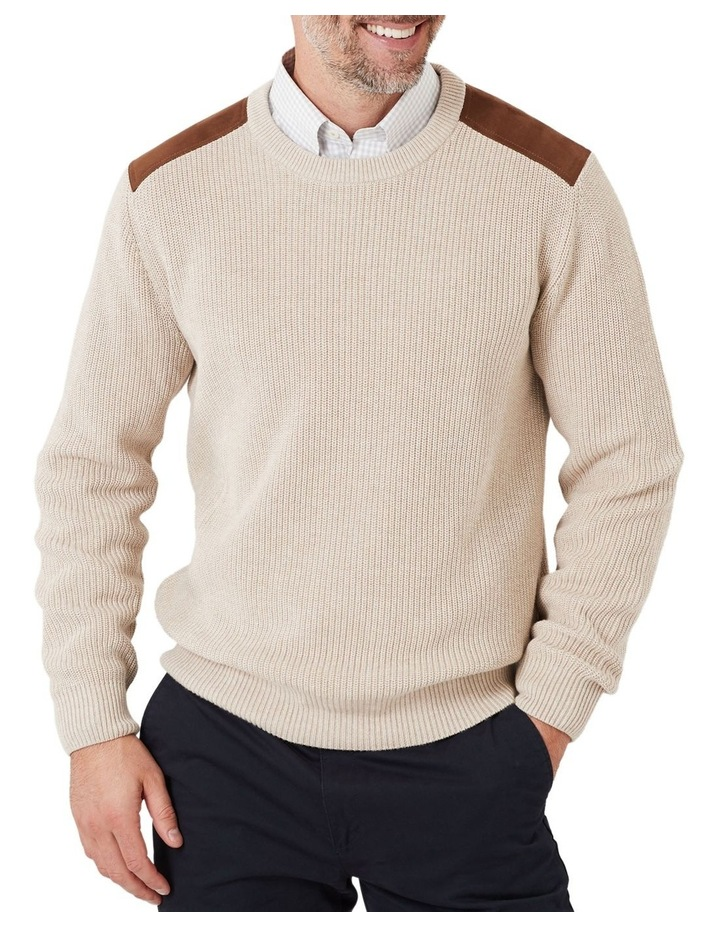 Chunky Fishermans Crew Knit image 1