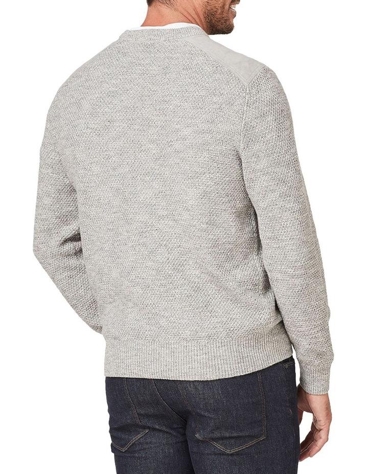 Textured Cotton Crew Knit image 2
