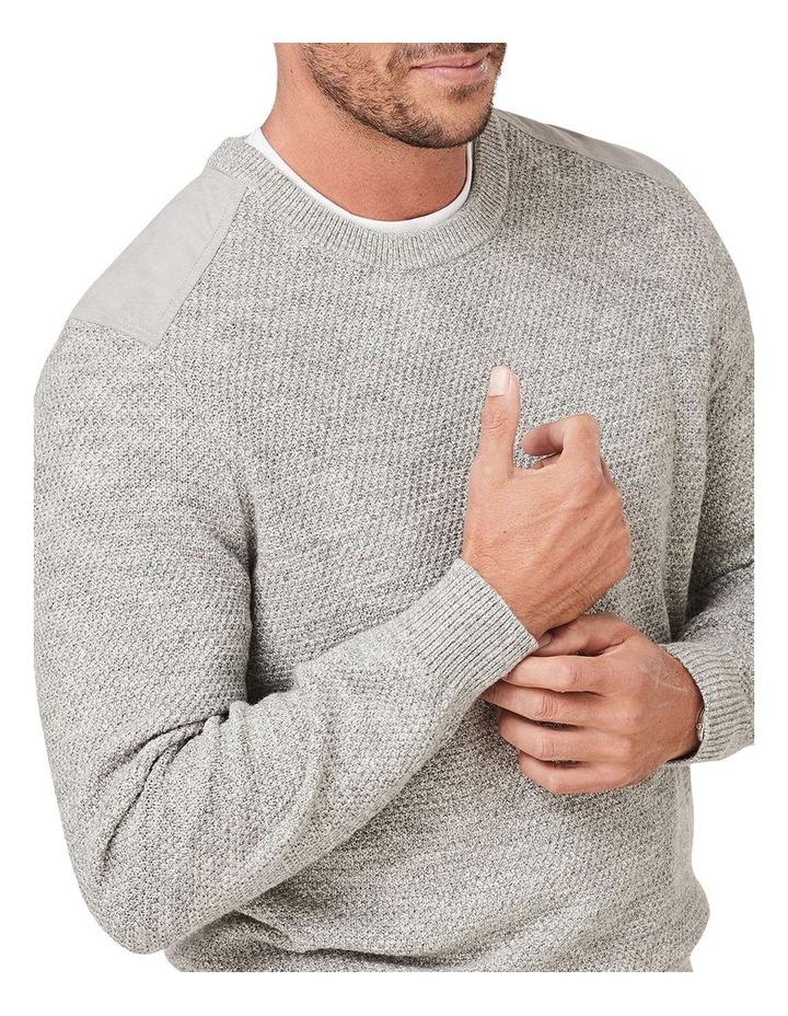 Textured Cotton Crew Knit image 3