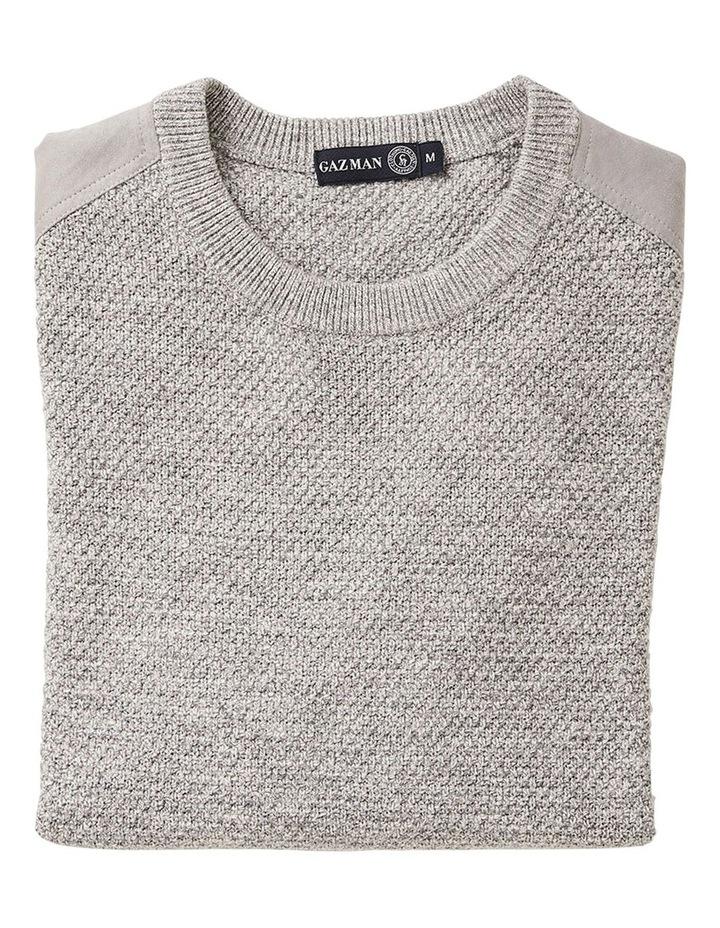 Textured Cotton Crew Knit image 4
