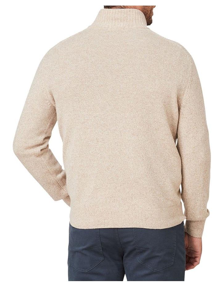Wool Blend 1/2 Zip Knit image 2