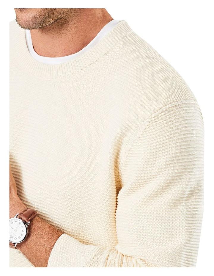 Textured Cotton Crew image 3