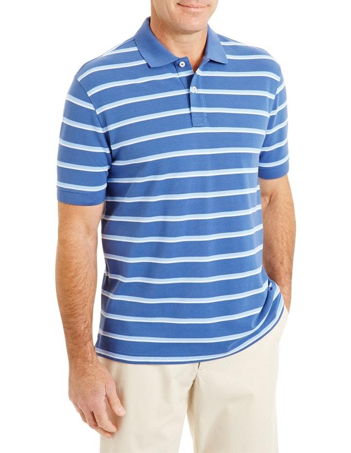 Pique Stripe Polo image 1